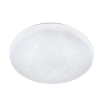 Plafoniera Frania bianco, in acciaio, diam. 43, LED integrato 33.5W IP20 EGLO