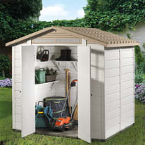 Casetta da giardino in pvc Tuscany 200 3.98 m² spessore 20 mm