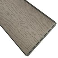 Perlina singola per composizione premium grigio  L 148.3 x H 18 cm Sp 21 mm