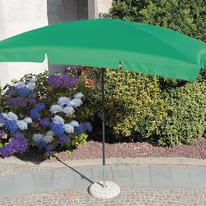Ombrellone Poli L 2.6 x P 1.5 m verde