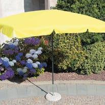Ombrellone Poli L 2.6 x P 1.5 m giallo