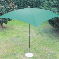 Ombrellone Poli L 2.25 x P 1.9 m verde