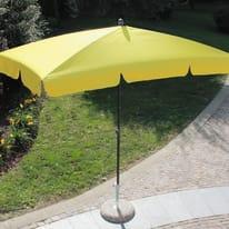 Ombrellone Poli L 2.2 x P 1.2 m giallo