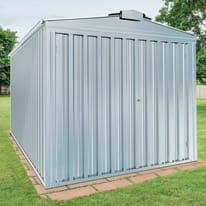 Garage in acciaio al carbonio Boston 12.7 m², Sp 0.4 mm
