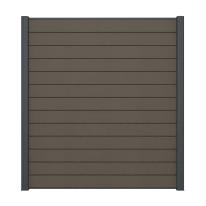 Pannello componibile kyoto grigio  L 188 x H 200 cm Sp 21 mm