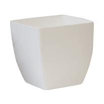 Vaso Quadro Siena ARTEVASI in polipropilene H 27 cm, L 30 x P 30 cm Ø 30 cm