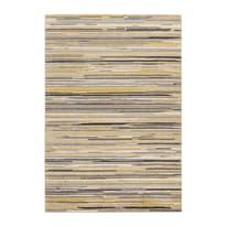 Tappeto Soave stripe crema e giallo 190x133 cm