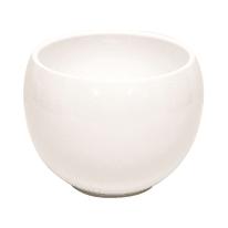 Portavaso Luna in ceramica H 17.5 cm, Ø 23.5 cm