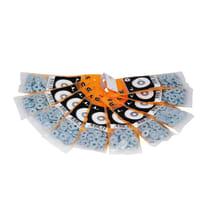 Rondella piana largaSTANDERS Ø 4 - 12 mm, 60 pezzi