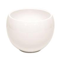 Portavaso Luna in ceramica H 15.4 cm, Ø 20 cm