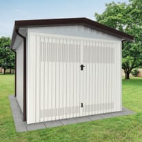Garage in acciaio al carbonio Newport 14.25 m², Sp 40 mm