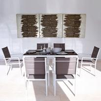 Tavolo da giardino allungabile Lisboa NATERIAL L 180 x P 100 cm