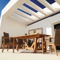 Tavolo da giardino allungabile rettangolare Quebec in legno L 200 x P 100 cm