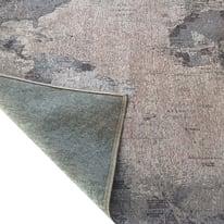 Tappeto Map Grey multicolor 190x133 cm