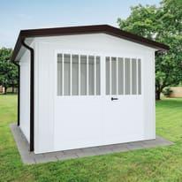 Garage in acciaio al carbonio Newport 17.29 m², Sp 40 mm