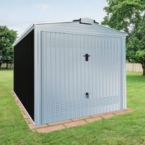 Garage in acciaio al carbonio Orlando 10.57 m², Sp 0.6 mm
