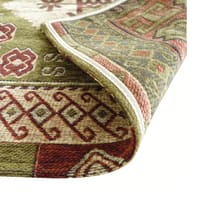 Tappeto Modern kilim multicolor 190x133 cm