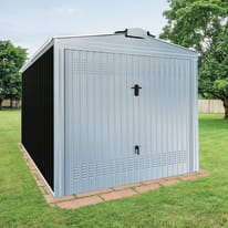 Garage in acciaio al carbonio Orlando 14.67 m², Sp 0.6 mm