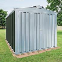 Garage in acciaio al carbonio Orlando 12.7 m², Sp 0.6 mm