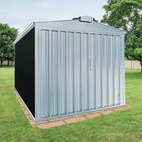 Garage in acciaio al carbonio Orlando 14.73 m², Sp 0.6 mm
