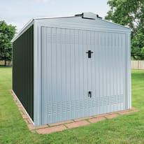 Garage in acciaio al carbonio Orlando 14.92 m², Sp 0.6 mm