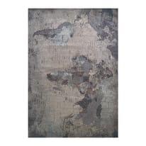 Tappeto Map Grey multicolor 233x155 cm
