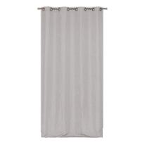 Tenda Infini grigio occhielli 140x280 cm