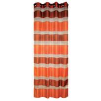 Tenda Stripe arancione occhielli 140x280 cm
