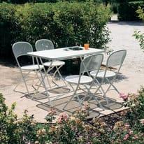 Tavolo da pranzo per giardino rettangolare Cassis L 76 x P 118 cm