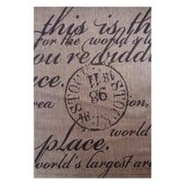 Tappeto Cottage poesia multicolor 190x133 cm