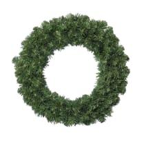 Corona di natale verde Ø 35 cm