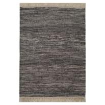 Tappeto Kilim grigio scuro 230x160 cm