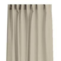 Tenda INSPIRE 100% lino avorio arricciatura con passanti nascosti 140x280 cm