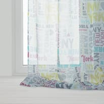 Tenda INSPIRE Live multicolor anelli 135x280 cm