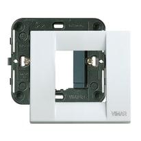 Placca VIMAR Idea 2 moduli bianco