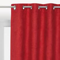 Tenda INSPIRE Newmanchester rosso occhielli 140x280 cm