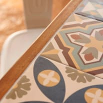 Tavolo da pranzo per giardino rettangolare Soho in legno L 105 x P 205 cm