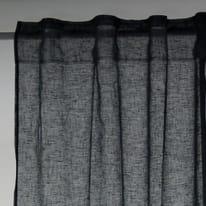 Tenda Micao grigio fettuccia con passanti nascosti 145x295 cm