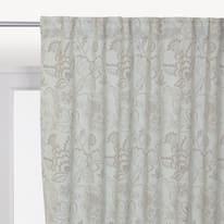 Tenda INSPIRE Oscurante Flowers grigio tape raccogliendo 140x280 cm