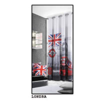 Tenda Metropolitan London multicolor occhielli 140x280 cm