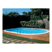 Piscina interrata 4 x 8 m