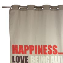 Tenda Happy multicolor occhielli 140x270 cm