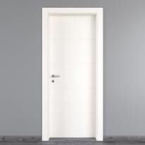 Porta a battente Prado bianco L 70 x H 210 cm destra