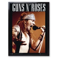 Stampa incorniciata Guns N Roses 30x40 cm