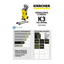 Idropulitrice elettrica KARCHER K 3 Full Control 120 bar