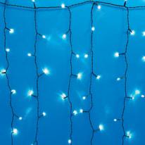 Tenda luminosa 1000 lampadine led bianco freddo H 100 x L 1000 cm