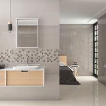 Piastrella Bellagio L 55 x H 33.33 cm grigio