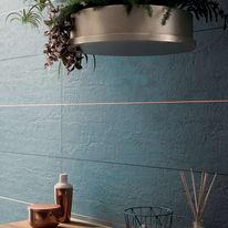 Piastrella Shabby H 30 x L 120 cm blu