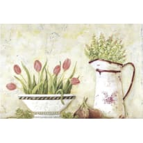Quadro con cornice Tulipano 20.5x30.5 cm