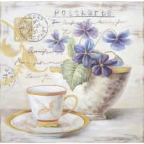 Quadro con cornice Violette 30x20 cm